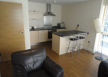 Thumbnail 1 bedroom flat to rent in Canal Wharf, Birmingham