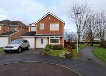 Thumbnail 4 bed detached house for sale in Leaf Close, Hucknall, Nottingham NG15, Hucknall,