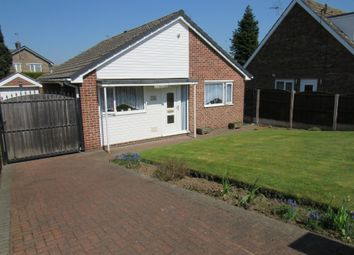Thumbnail 2 bed detached bungalow for sale in Bishopgate Lane, Rossington