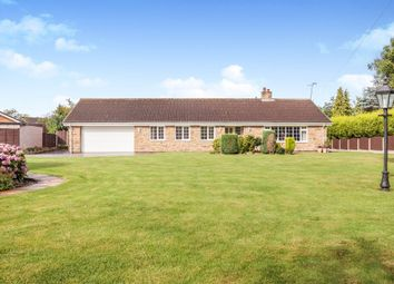 Thumbnail 3 bed detached bungalow for sale in Thorpe Lane, Thorpe Audlin, Pontefract