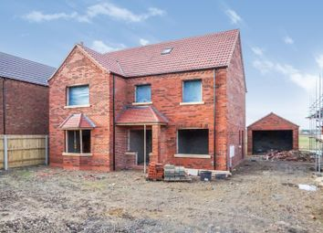 Thumbnail 6 bed detached house for sale in Holton Road, Tetney, Grimsby