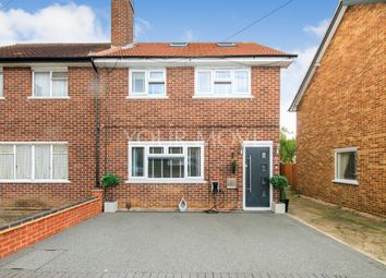 Thumbnail 5 bed semi-detached house for sale in Ellmore Close, Romford