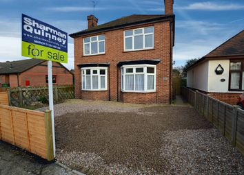 Thumbnail 3 bedroom detached house for sale in Ramnoth Road, Wisbech