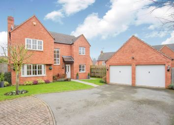 Thumbnail 4 bedroom detached house for sale in Florin Close, Coventry