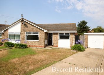 Thumbnail 2 bed semi-detached bungalow for sale in Ashwood Close, Caister-On-Sea, Great Yarmouth