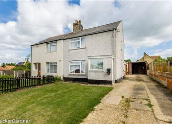 Thumbnail 3 bed semi-detached house for sale in West End, Haddenham, Ely