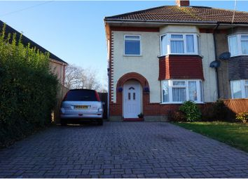 Thumbnail 3 bed semi-detached house for sale in Highlands Crescent, Bournemouth