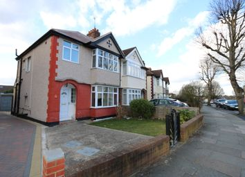 Thumbnail 4 bed semi-detached house to rent in Dorchester Road, Northolt
