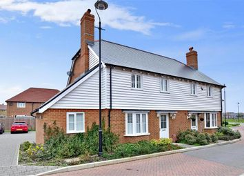 Thumbnail 3 bed semi-detached house for sale in Purple Emperor Grove, Iwade, Sittingbourne, Kent