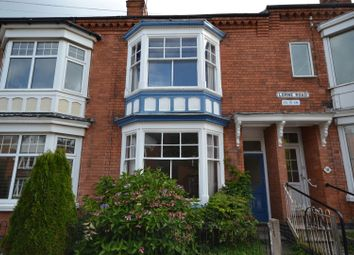 Thumbnail 4 bedroom terraced house for sale in Lorne Road, Leicester