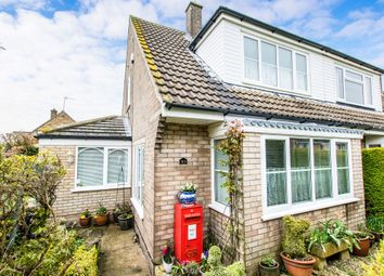 Thumbnail Semi-detached house for sale in Thorold Avenue, Cranwell Village, Sleaford