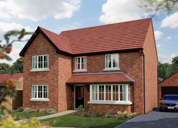 "Thumbnail 4 bed detached house for sale in ""The Chester"" at Acton Court, Burton Road, Streethay, Lichfield"