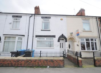 Thumbnail 2 bedroom terraced house for sale in Carew Street, West Hull, North Humberside