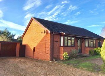 Thumbnail 4 bed detached bungalow for sale in Exchange Road, Newton Flotman, Norwich