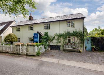 Thumbnail 3 bed cottage for sale in Dash End Lane, Kedington, Suffolk