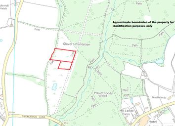 Thumbnail Commercial property for sale in Russ Hill, Charlwood, Horley