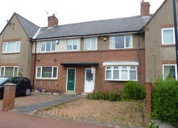Thumbnail 3 bedroom terraced house to rent in Thropton Terrace, High Heaton, Newcastle Upon Tyne