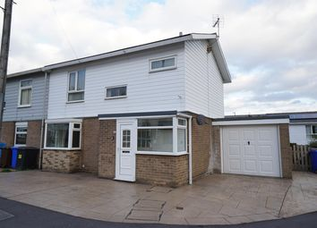 Thumbnail 3 bed end terrace house for sale in Hazlebarrow Drive, Jordanthorpe, Sheffield