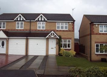 Thumbnail 3 bed semi-detached house to rent in Harewood Crescent, Stockton-On-Tees