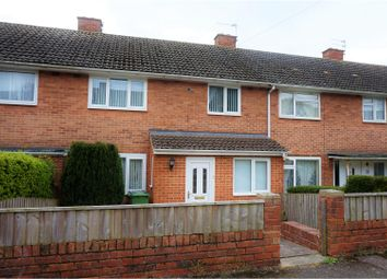 Thumbnail 3 bed terraced house for sale in Elaine Close, Exeter