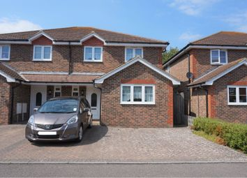 Thumbnail 3 bed semi-detached house for sale in Tamarisk Gardens, Bexhill-On-Sea