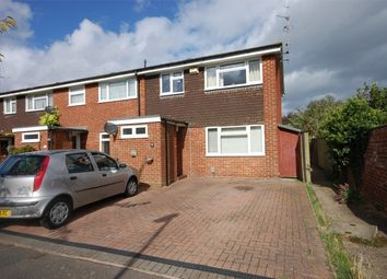 Thumbnail 3 bed end terrace house for sale in Chaucer Drive, Aylesbury, Buckinghamshire