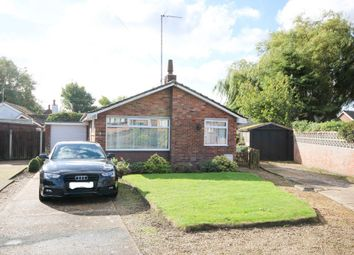 Thumbnail 3 bed detached bungalow for sale in Priory Close, Caister-On-Sea, Great Yarmouth