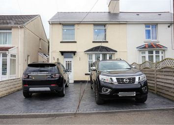 Thumbnail 4 bed semi-detached house for sale in Uxilla Terrace, Bridgend