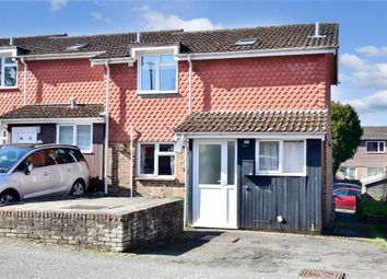 Thumbnail 2 bed end terrace house for sale in Harvard Close, Lewes, East Sussex