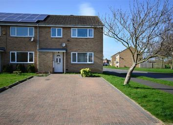 Thumbnail 3 bed end terrace house for sale in Carentan Close, Selby