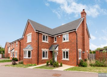 Thumbnail 4 bed detached house for sale in Stanegate, Two Gates, Tamworth