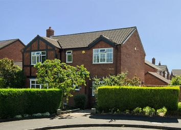 Thumbnail 4 bed detached house for sale in Keepers Close, Lichfield