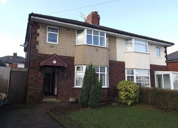 Thumbnail 3 bed semi-detached house to rent in Leyland Road, Preston