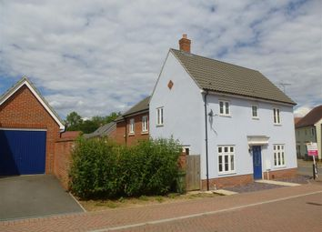 Thumbnail 3 bed link-detached house to rent in Beverley Close, Carbrooke, Thetford