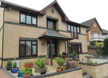 Thumbnail 4 bed detached house for sale in Fford Las, Abertridwr, Caerphilly CF83,