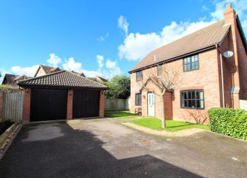 Thumbnail 4 bed detached house for sale in Oxhouse Court, Shenley Brook End, Milton Keynes