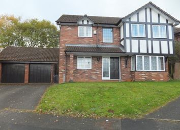 Thumbnail 4 bed detached house to rent in Schoolacre Rise, Streetly, Sutton Coldfield