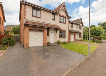 Thumbnail 4 bed detached house for sale in Guardwell Crescent, Edinburgh