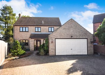 Thumbnail 4 bed detached house for sale in Millicent Oliver Close, Thetford