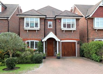 Thumbnail 4 bed detached house for sale in Flora Close, Stanmore