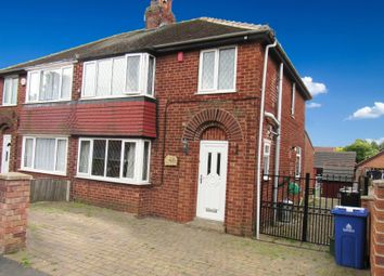 Thumbnail 3 bed semi-detached house for sale in Scawthorpe Avenue, Doncaster