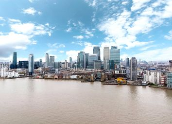 3 bed flat for sale in Waterview Drive, Greenwich SE10