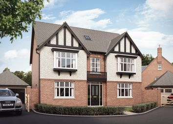 "Thumbnail 5 bed detached house for sale in ""The Thorne"" at Grange Road, Hugglescote, Coalville"