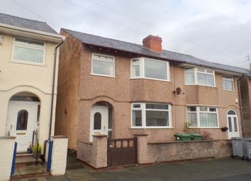 Thumbnail 3 bed semi-detached house to rent in Hadfield Avenue, Hoylake, Wirral