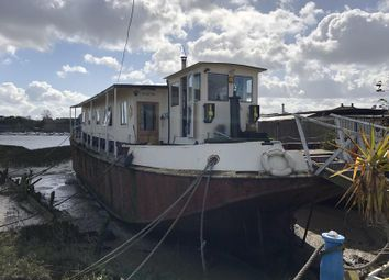 Thumbnail 3 bed houseboat for sale in Night Rd, Temple Boat Yard, Strood, Kent
