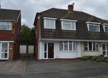 Thumbnail 3 bed semi-detached house for sale in Manorford Avenue, West Bromwich