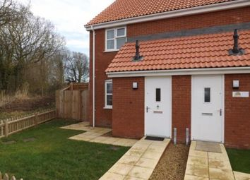 Thumbnail 2 bedroom end terrace house for sale in Downham Market, Kings Lynn, Norfolk