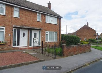 Thumbnail 2 bed end terrace house to rent in Dressay Grove, Hull