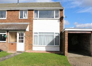 Thumbnail 3 bed end terrace house to rent in Cove Road, Farnborough