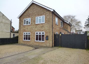 Thumbnail 5 bedroom detached house for sale in Church Road, Wisbech St. Mary, Wisbech